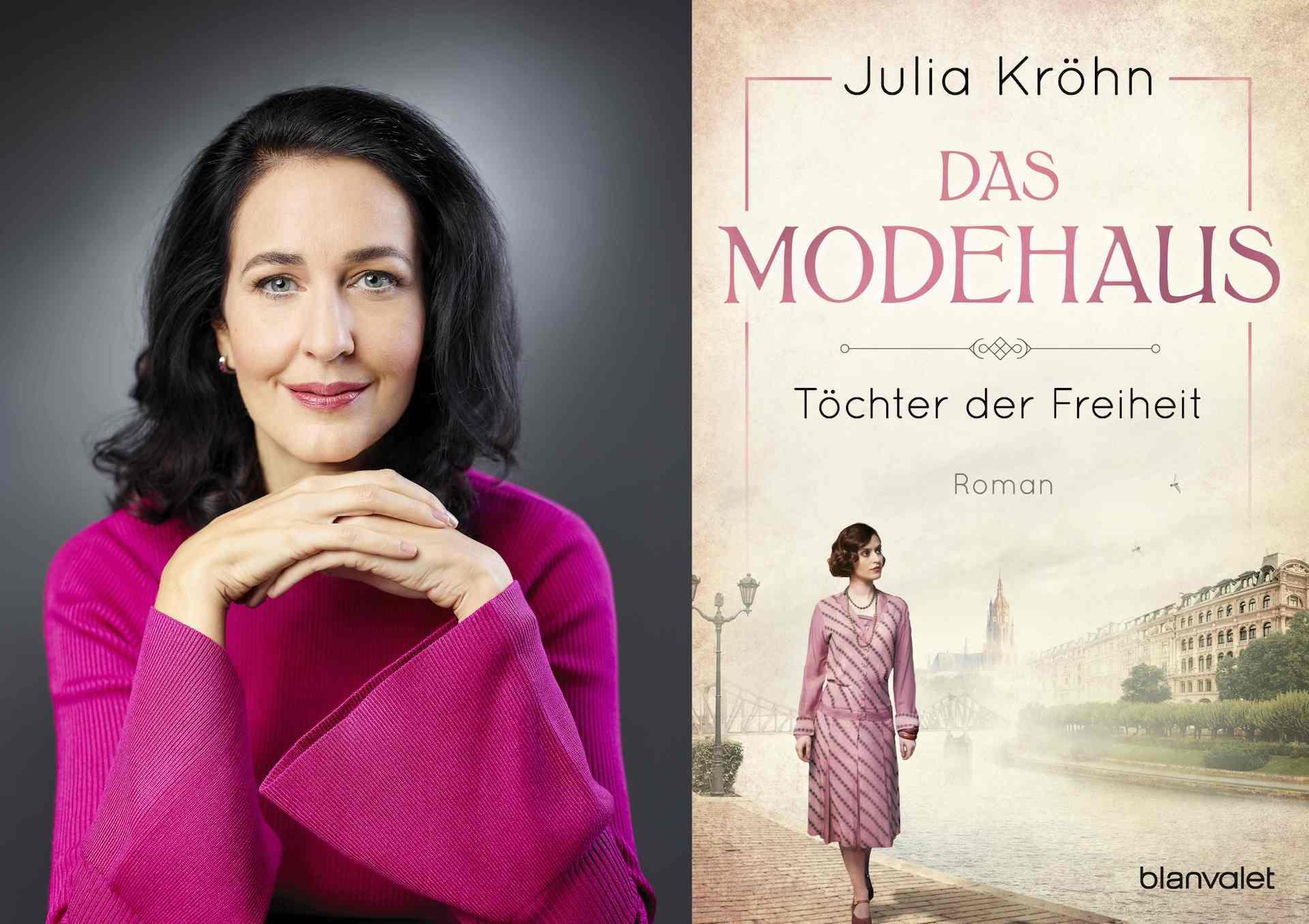 Julia Kröhn und ihr aktuelles Buch Das Modehaus